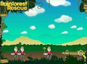 小猴保护森林