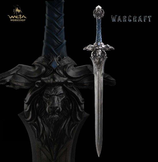 魔兽电影周边国外开售:国王大宝剑249美元