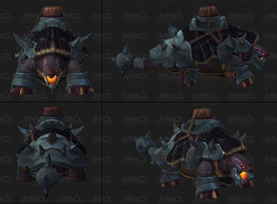 魔兽7.0军团再临新增坐骑 铁下巴海龟坐骑