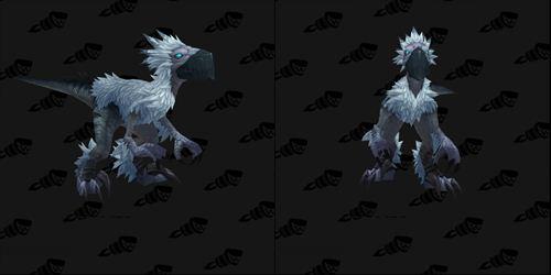 魔兽7.0新坐骑预览 乌鸦头+迅猛龙身躯