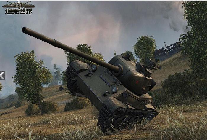坦克世界华尔兹高清大图 华尔兹外观图