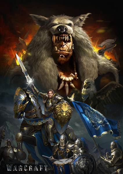 涂鸦王国原创画作 为了联盟力量与荣耀
