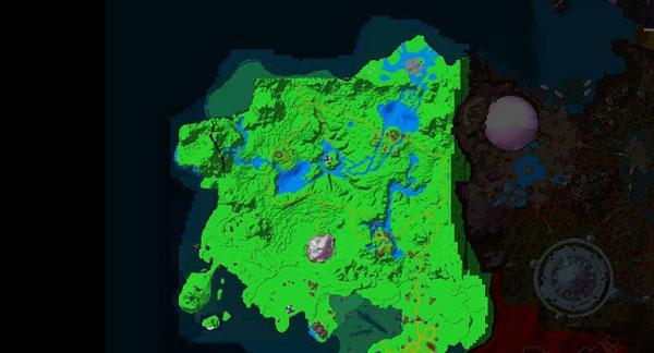 魔兽世界德拉诺世界全景卫星地图预览
