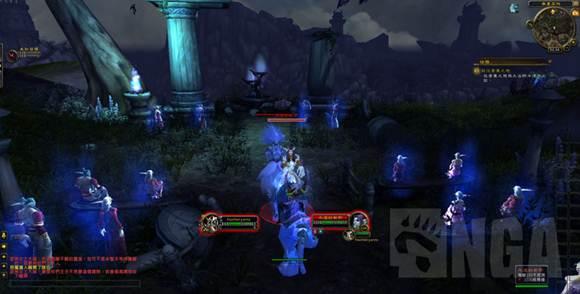 魔兽世界7.0阿苏纳丛林的死亡婚礼现场
