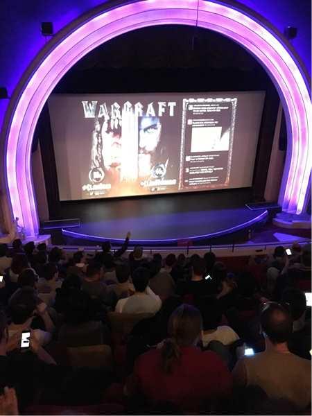 电影魔兽全球首映日观影体验 为了部落