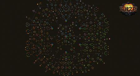 天赋林广袤如星空 流放之路天赋系统曝光