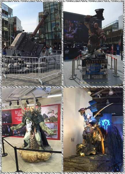 魔兽世界北京三里屯太古里魔兽电影展