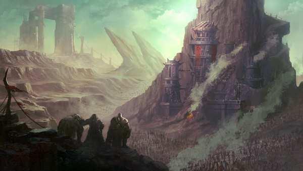 洞窟魔兽世界电影命题绘  进军艾泽拉斯
