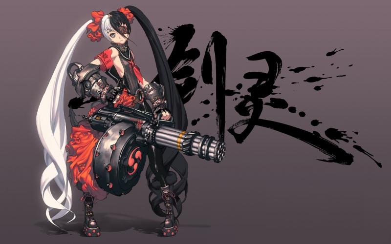 剑灵壁纸合集 剑灵高清美图大放送