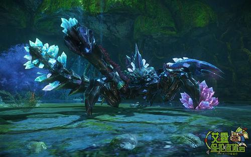 怪物猎人OL灰晶蝎苍火龙樱火龙详细介绍