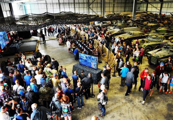 狂怒也来参展!2016WG坦克节现场照片