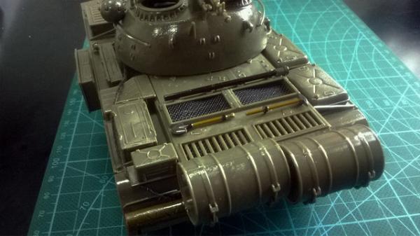 精美模型欣赏:小号手俄T-54B中型坦克