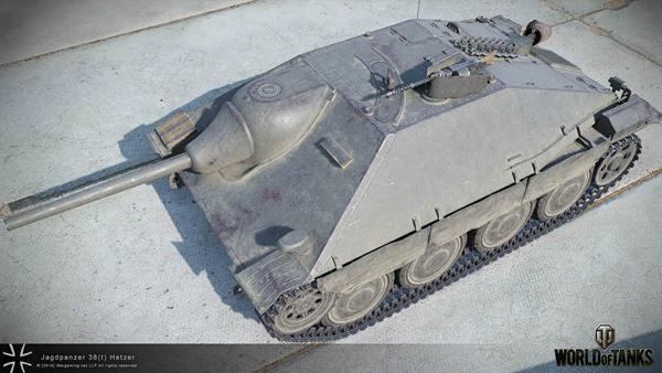 坦克世界图片之德系TD高清模型车库预览
