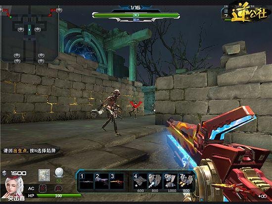 逆战武器:新极品新表现 红莲巨剑卓尔不凡