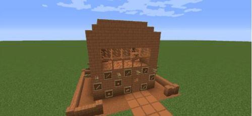 我的世界1.10.2泥土新用途 土坯砖2模组